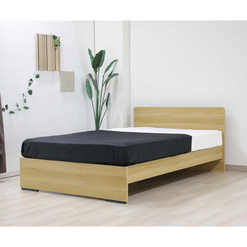 木製ベッド(シングル/マット付)